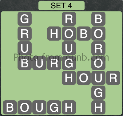 Wordscapes Set 4 (Level 980) Answers