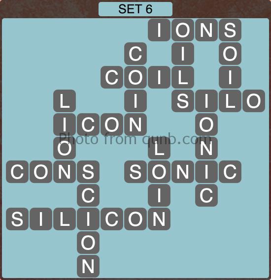 Wordscapes Set 6 (Level 982) Answers