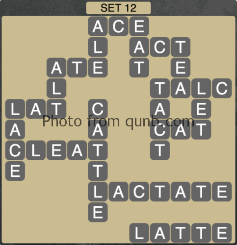Wordscapes Set 12 (Level 988) Answers