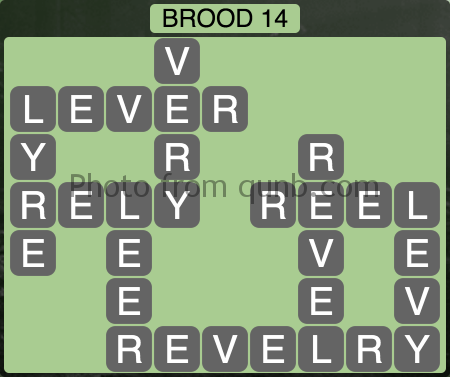 Wordscapes Brood 14 (Level 1182) Answers