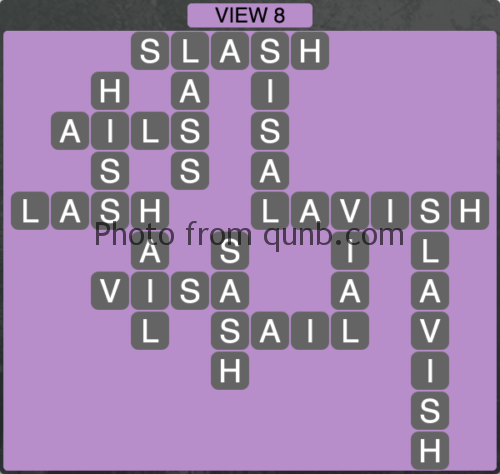 Wordscapes VIEW 8 (Level 1192) Answers