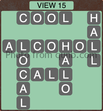 Wordscapes VIEW 15 (Level 1199) Answers