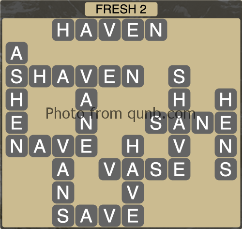 Wordscapes Fresh 2 (Level 1202) Answers