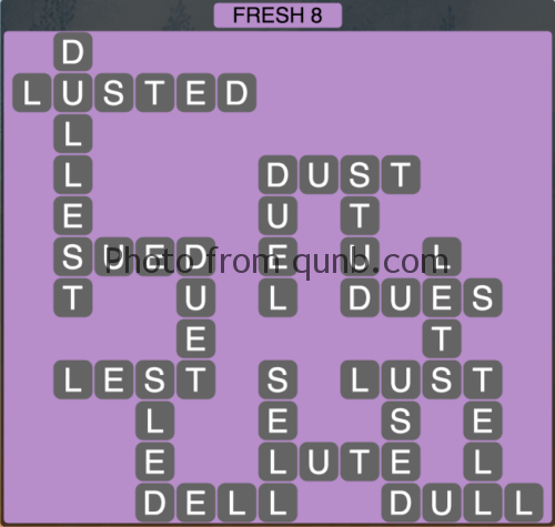 Wordscapes Fresh 8 (Level 1208) Answers