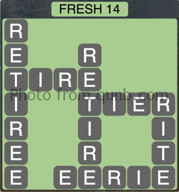 Wordscapes Fresh 14 (Level 1214) Answers