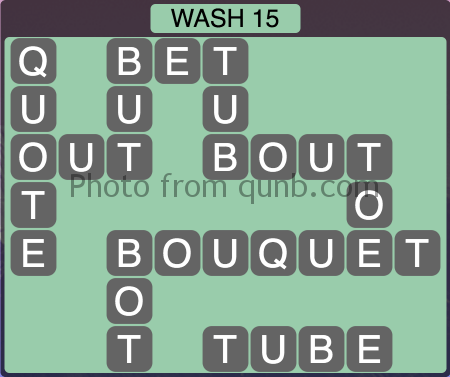 Wordscapes Wash 15 (Level 1247) Answers