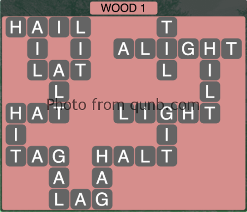 Wordscapes Wood 1 (Level 1281) Answers