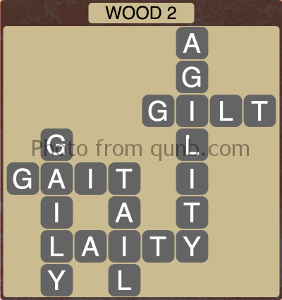 Wordscapes Wood 2 (Level 1282) Answers