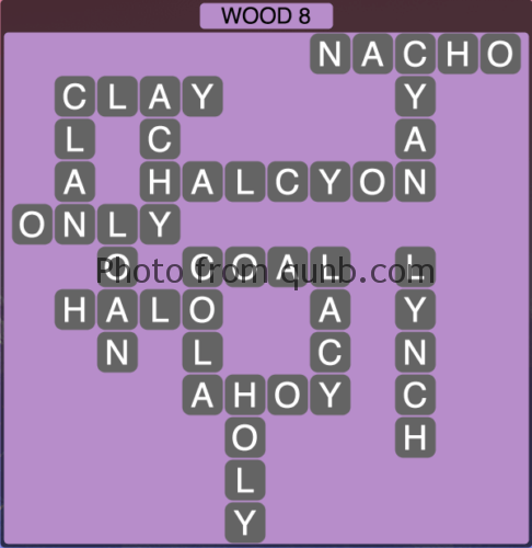 Wordscapes Wood 8 (Level 1288) Answers