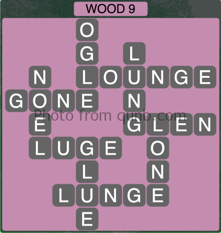 Wordscapes Wood 9 (Level 1289) Answers