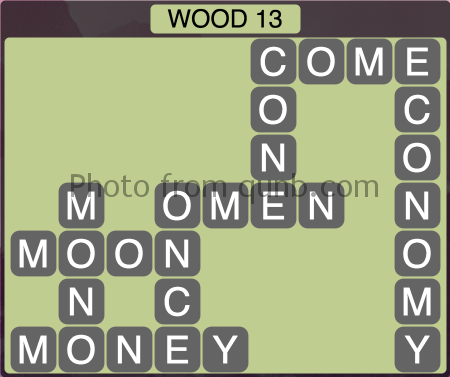 Wordscapes Wood 13 (Level 1293) Answers