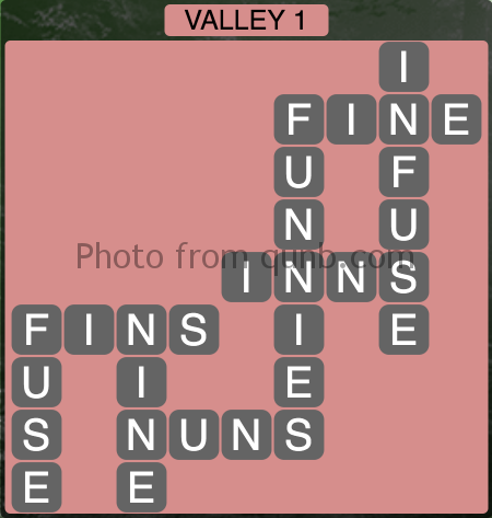 Wordscapes Valley 1 (Level 1297) Answers