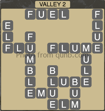 Wordscapes Valley 2 (Level 1298) Answers