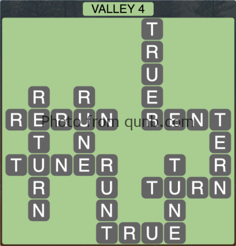 Wordscapes Valley 4 (Level 1300) Answers