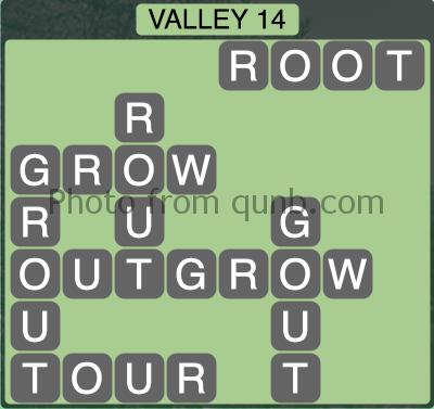 Wordscapes Valley 14 (Level 1310) Answers