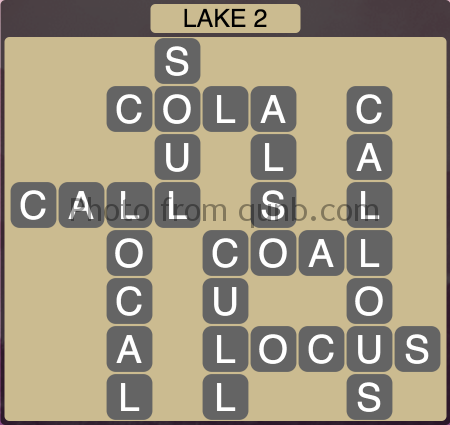 Wordscapes Lake 2 (Level 1314) Answers
