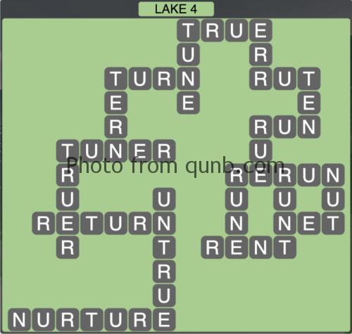 Wordscapes Lake 4 (Level 1316) Answers