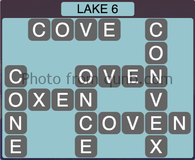 Wordscapes Lake 6 (Level 1318) Answers