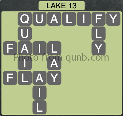 Wordscapes Lake 13 (Level 1325) Answers