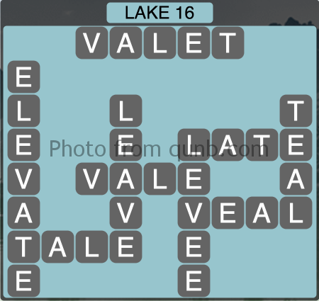 Wordscapes Lake 16 (Level 1328) Answers