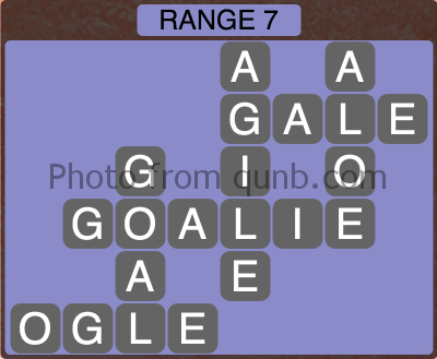 Wordscapes Range 7 (Level 1335) Answers