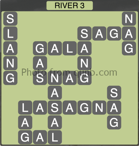 Wordscapes River 3 (Level 1347) Answers