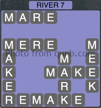 Wordscapes River 7 (Level 1351) Answers