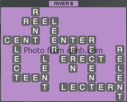 Wordscapes River 8 (Level 1352) Answers
