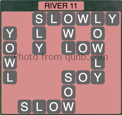 Wordscapes River 11 (Level 1355) Answers