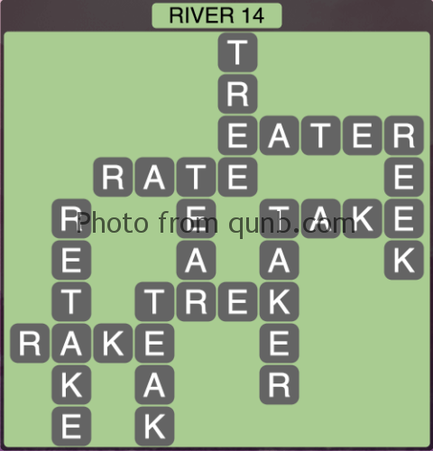 Wordscapes River 14 (Level 1358) Answers