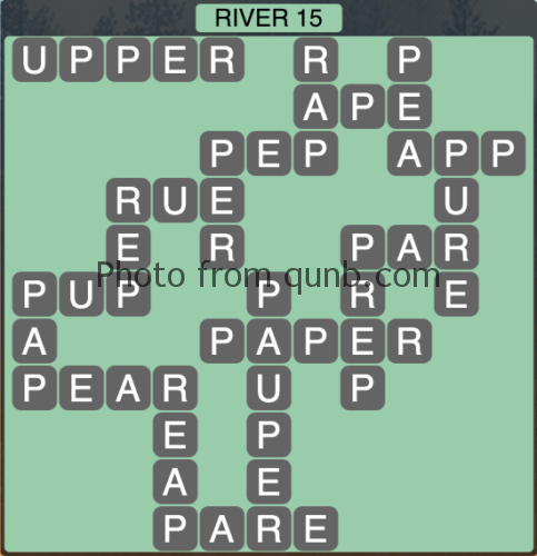 Wordscapes River 15 (Level 1359) Answers