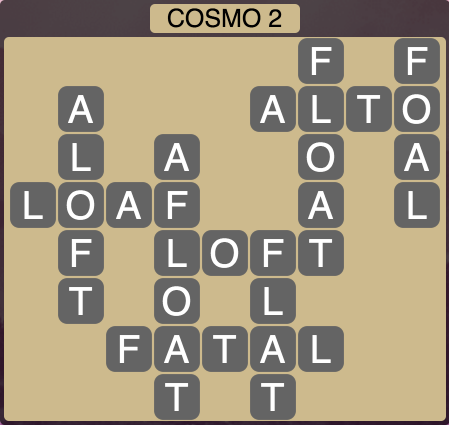 Wordscapes Cosmo 2 (Level 1362) Answers