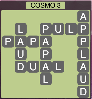 Wordscapes Cosmo 3 (Level 1363) Answers