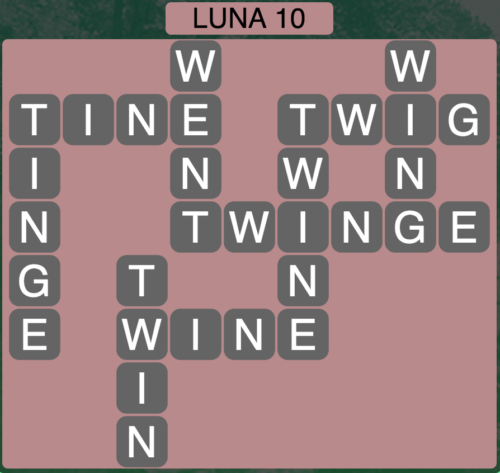 Wordscapes Luna 10 (Level 1386) Answers