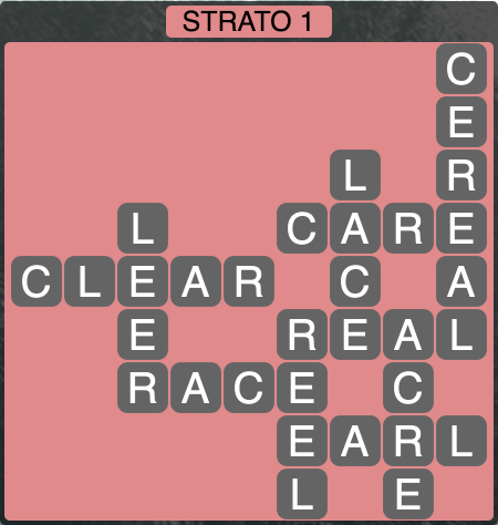 Wordscapes Strato 1 (Level 1393) Answers