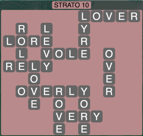 Wordscapes Strato 10 (Level 1402) Answers