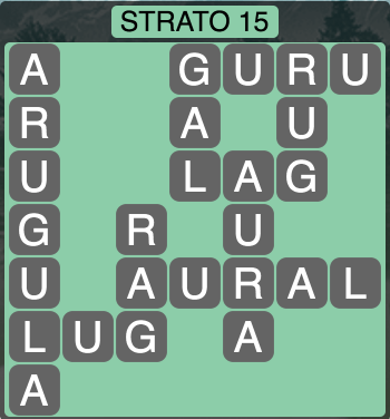 Wordscapes Strato 15 (Level 1407) Answers