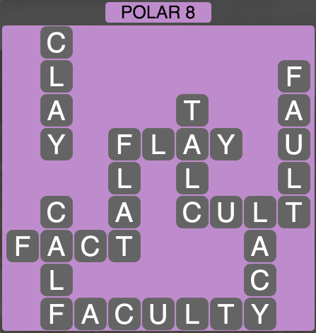 Wordscapes Polar 8 - Level 1416 Answers
