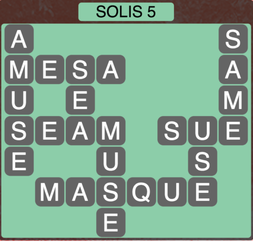 Wordscapes Solis 5 - Level 1429 Answers
