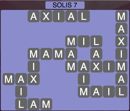 Wordscapes Solis 7 - Level 1431 Answers