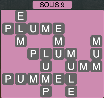 Wordscapes Solis 9 - Level 1433 Answers