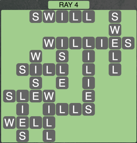 Wordscapes Ray 4 - Level 1444 Answers