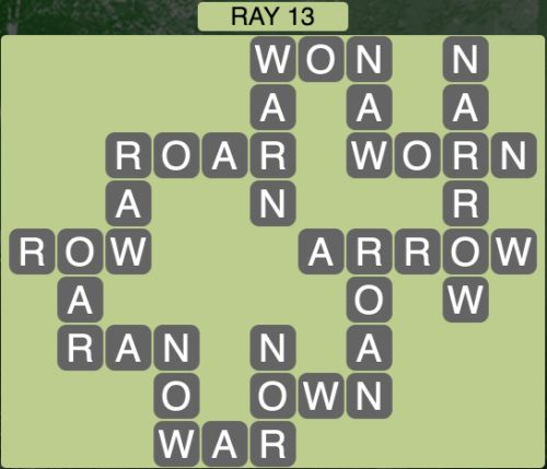 Wordscapes Ray 13 - Level 1453 Answers