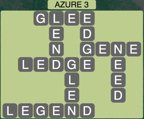 Wordscapes Azure 3 - Level 1459 Answers