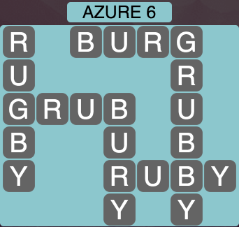 Wordscapes Azure 6 - Level 1462 Answers