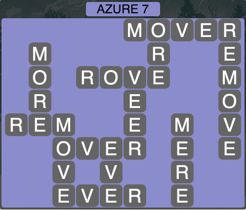 Wordscapes Azure 7 - Level 1463 Answers