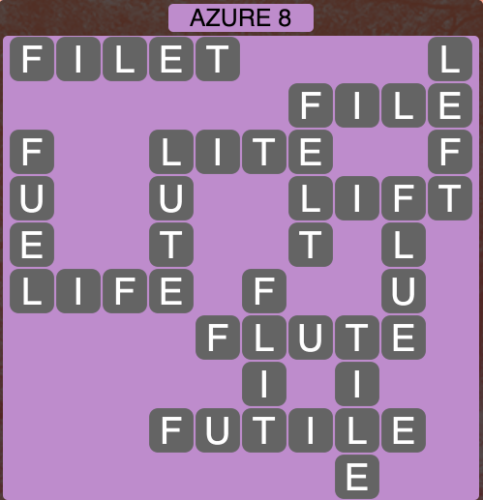 Wordscapes Azure 8 - Level 1464 Answers