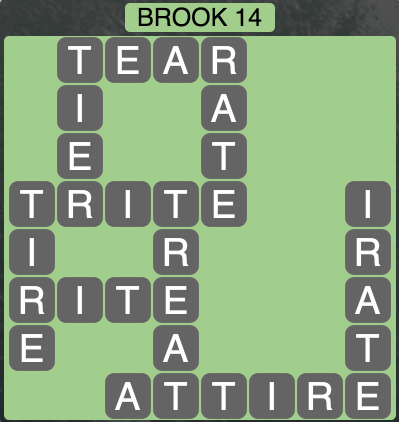 Wordscapes Brook 14 - Level 1502 Answers