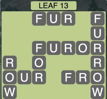 Wordscapes Leaf 13 - Level 1517 Answers