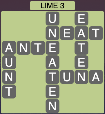 Wordscapes Lime 3 - Level 1571 Answers
